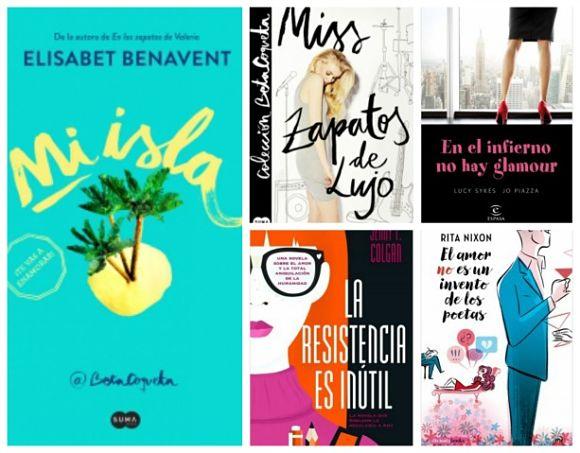 Las 5 mejores novelas chick lit de 2016 para regalar en Navidad