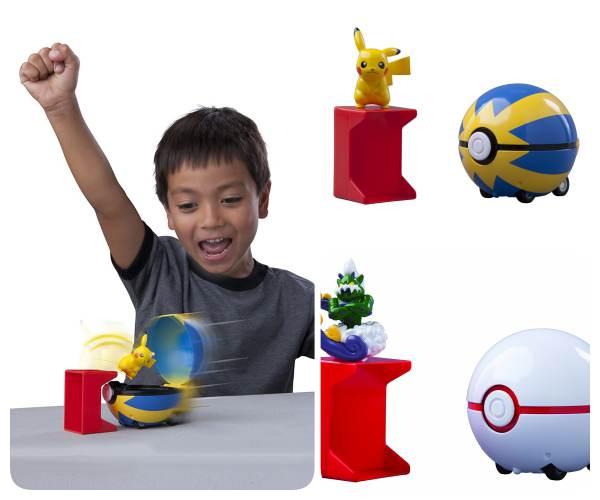 Poke Bolas Catch and Return, juguetes Pokemón