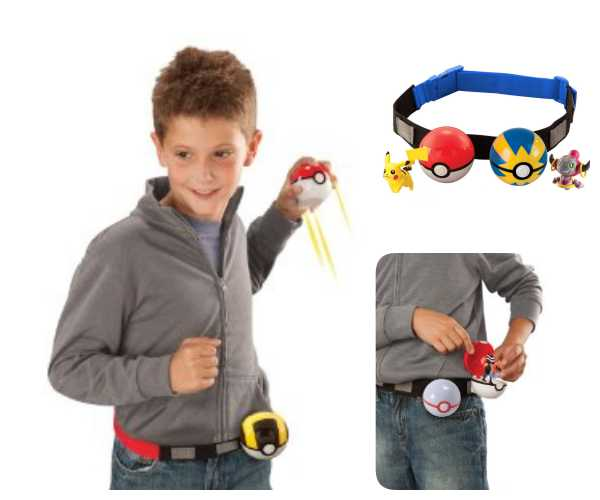 Pokemón cinturón infantil para Poke bolas