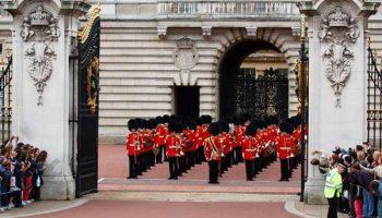 Buckingham, cambio de guardia