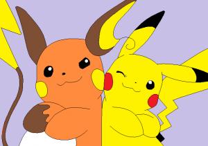 peluches Pokémon Pikachu raichu