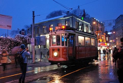 El transporte público de Estambul