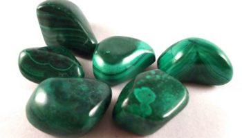 La malaquita, una gema con efectos curativos