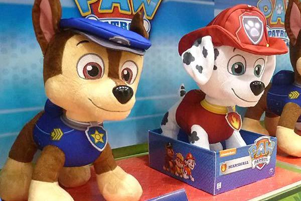 """Los juguetes más demandados de """"La patrulla canina"""""""