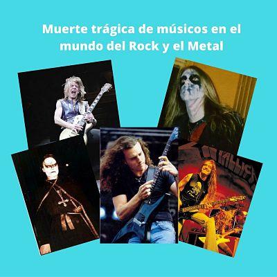 Muerte trágica de músicos en el mundo del Rock y el Metal