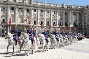 Palacio Real y sus cambios de guardia