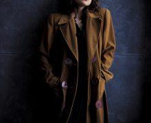 Tendencia, moda femenina, abrigo XXL