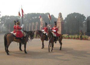 Cambio-guardia en la India