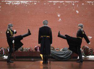 Cambio de guardia en la Tumba del Soldado Desconocido