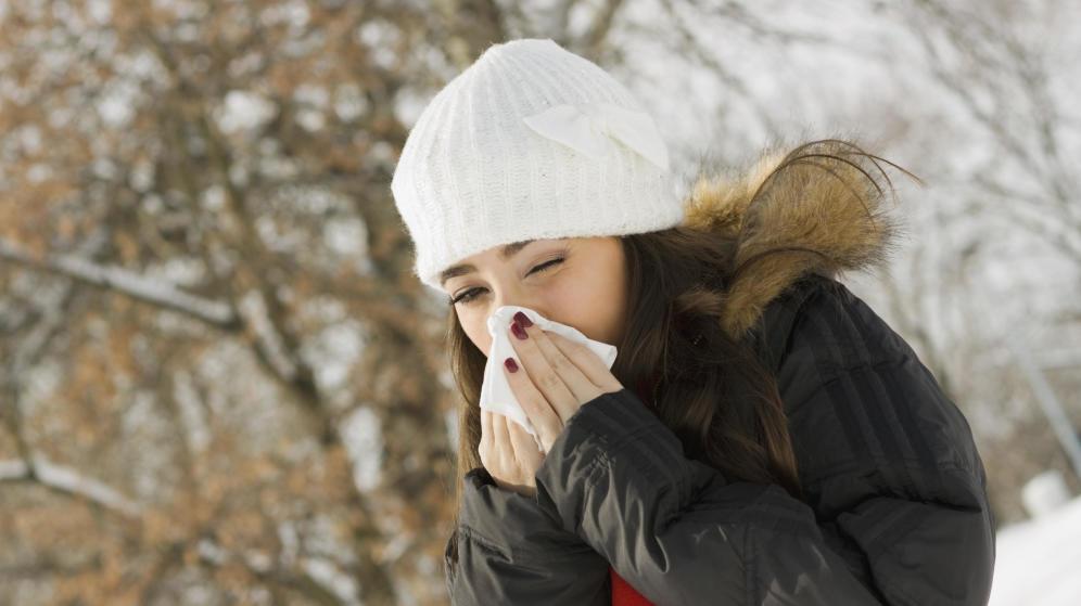 Gripe y resfriados: dos males que acompañan al otoño.