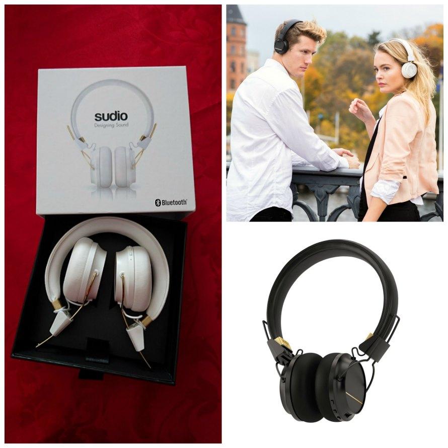 Auriculares Bluetooth Sudio Regent: elegancia y calidad en diseño y sonido