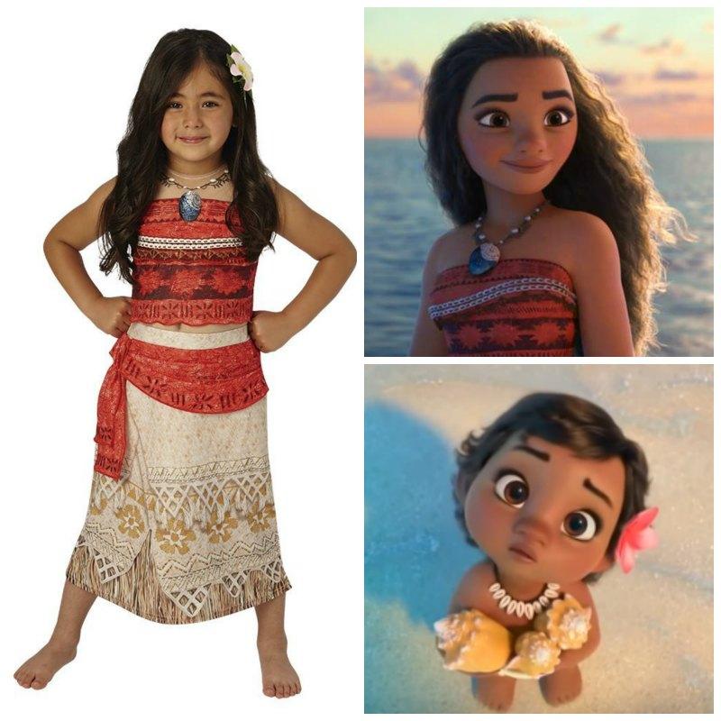 Disfraz de Vaiana ¡Siéntete como una princesa de los mares del Pacífico!