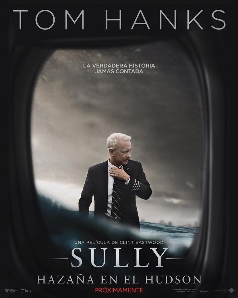 """Crítica de """"Sully: Hazaña en el Hudson"""", con Tom Hanks y Aaron Eckhart"""
