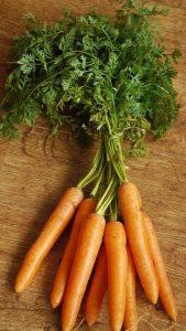 zanahorias y el acné