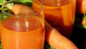 Propiedades del zumo de zanahorias