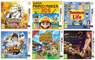 Los mejores juegos de Nintendo 3DS para regalar esta Navidad