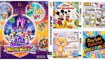 Los 5 Mejores Juegos Para Ninos De Nintendo 2ds Y 3ds