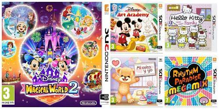 Los 5 mejores juegos para niños de Nintendo 2DS y 3DS