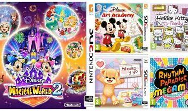 Videojuegos infantiles para regalar en Navidad