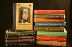 Libros de Una serie de catastróficas desdichas, image by Kardsunlimited