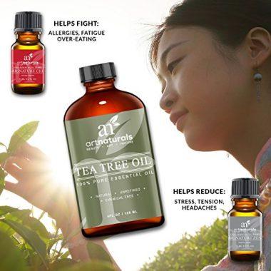 Beneficios saludables del aceite de árbol de té