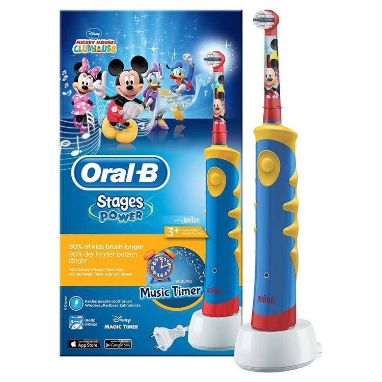 Cepillos Oral B para niños: características, gama y mejor precio