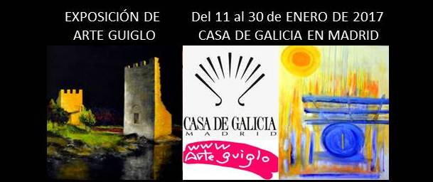 La fusión de Arte GUIGLO en la Casa Galicia de Madrid