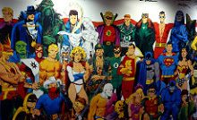 DC Cómics. Imagen by Cory Doctorow