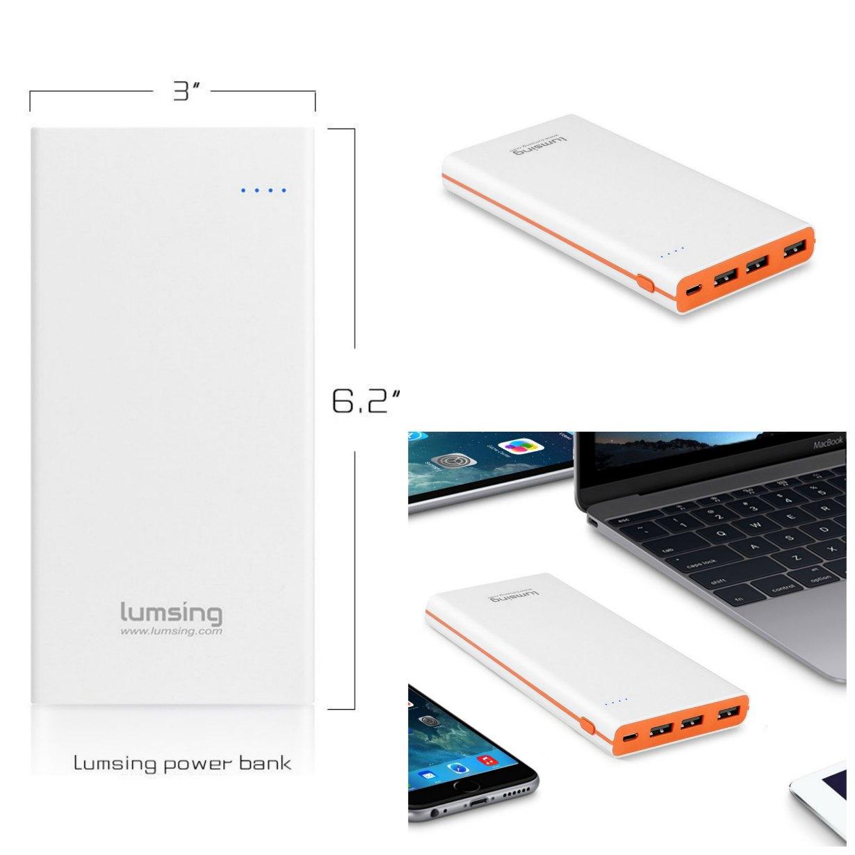 Análisis de la batería externa Lumsing Glory Series P1 Plus 15000mAh ¡Siéntete libre para usar tu móvil en cualquier lugar!