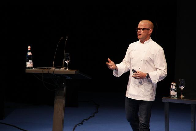 Heston Blumenthal, mezcla entre ciencia y cocina