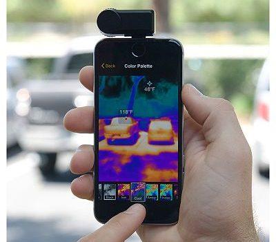 cámara térmica barata para Android e IOS