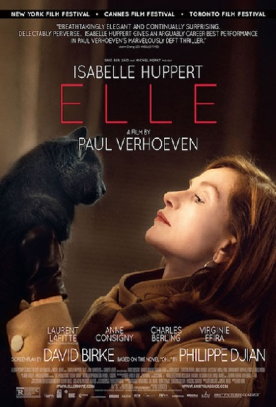 "Crítica de ""Elle"", de Paul Verhoeven, con Isabelle Huppert"