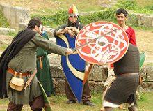 Teatralización de la Edad Media. Imagen by Contando Estrelas