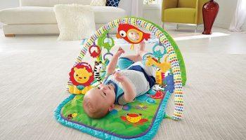 mantas de actividades para bebés