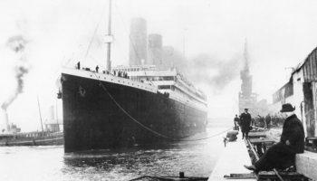 Primer viaje del Titanic