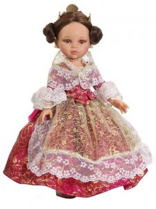 Muñeca vestida de fallera