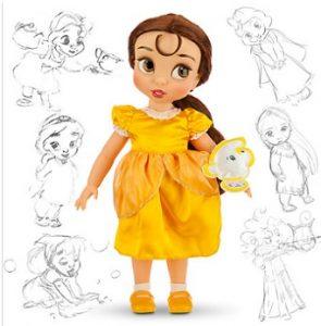 muñeca de Bella y Bestia