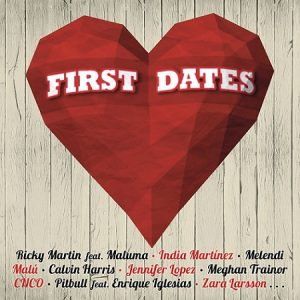lista de canciones del disco de First dates