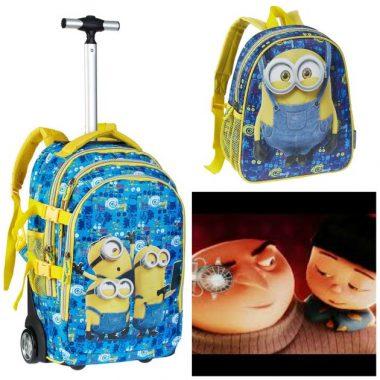 mochilas de Minions