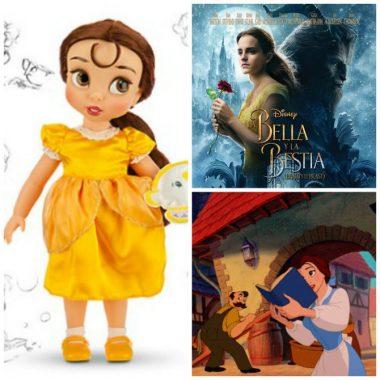 Muñecas de Bella y Bestia