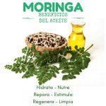 Aceite de moringa: propiedades y beneficios para la piel y el cabello