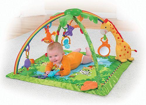 Las mejores mantas de actividades de Fisher Price para bebés: ¡regala el gimnasio infantil más divertido!