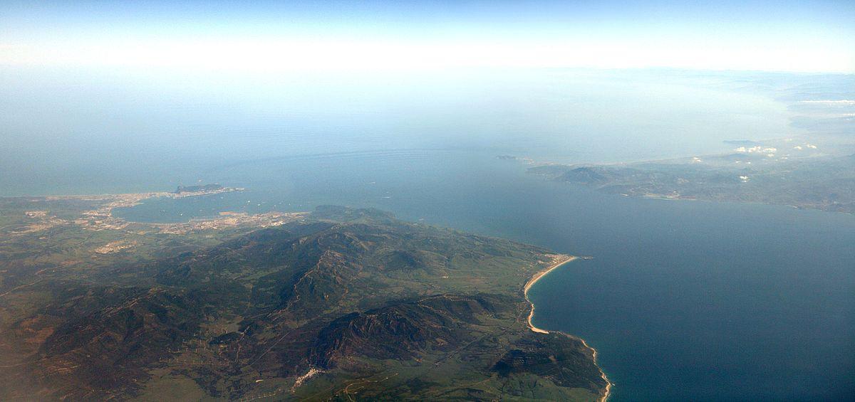 Cómo se formó el estrecho de Gibraltar