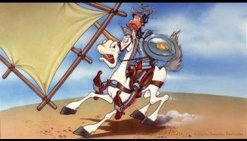 Fotograma de la serie animada Don Quijote que emitió TVE