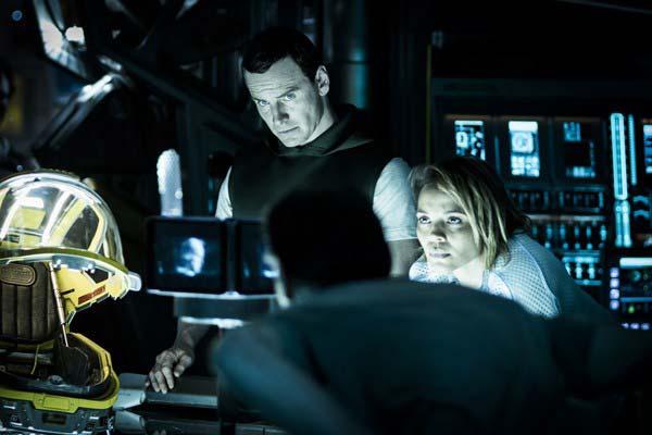 """Crítica de """"Alien: Covenant"""", de Ridley Scott, con Michael Fassbender"""