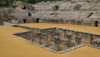 Anfiteatro de Itálica en Santiponce