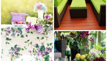 muebles de jardín de ratán