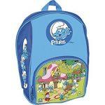mochilas escolares de los pitufos
