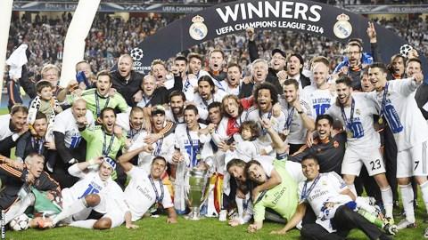 Las 14 finales de Copa de Europa o Champions League del Real Madrid