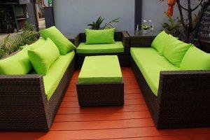 muebles de jardin de ratan
